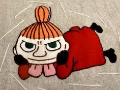 アップリケキルトの作り方♪2 :: ~ All My Loving ~|yaplog!(ヤプログ!)byGMO Fuse Bead Patterns, Beading Patterns, Embroidery Patterns, Fuse Beads, Hama Beads, All My Loving, Tove Jansson, Old Cartoons, Little My