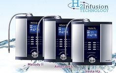 Why H2 Water Ionizers Are The Best.  The H2 Infusion Advantage - The focus on water ionizer performance is shifting to now include hydrogen (H2) along with pH and ORP.  http://teamalkaviva.com/healthalkaline/h2-water-ionizers.html