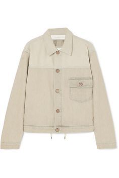 SEE BY CHLOÉ Two-tone denim jacket