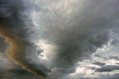 Gewitterwolken ganz nah