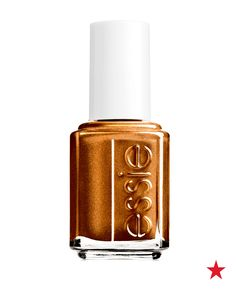 Pumpkin carving. Pumpkin Spice everything. Pumpkin-tinted metallic nails. Who doesn't love Fall? Essie nail polish