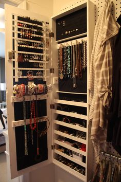 Use a Jewelry Armoire To Store Your Precious Jewelry Pieces Jewelry Closet, Jewelry Drawer, Jewelry Cabinet, Jewelry Armoire, Jewellery Storage, Jewelry Box, Jewellery Stand, Mens Jewellery, Jewelry Rack