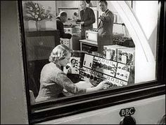 Daphne Oram ~ Electronic Music pioneer in the 50ies