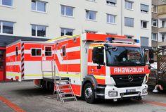 Einsatzleitwagen (ELW 3) der #Feuerwehr Düsseldorf. #fire_department