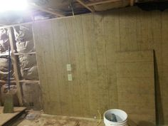 Paneling going on walls....