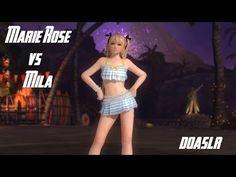 Dead or Alive 5 Last Round Mila vs Marie Rose (Senran Kagura Costumes) - YouTube