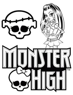 free printable monster high coloring pages h m coloring pages