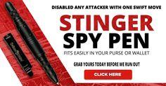banner for Stinger Spy Pen