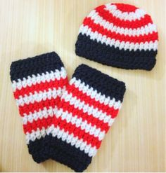 Matching Baby Legs and Hat pattern