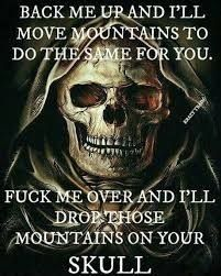 Fuck you skull memes Military Quotes, Biker Quotes, Wolf Quotes, Dark Quotes, Strong Quotes, Wisdom Quotes, True Quotes, Great Quotes, Funny Quotes