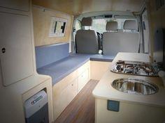 VW T5 Thiérry aménagements de véhicules de loisirs Amenagement contreplaqué bouleau LDCAMP. bien plus beau que du stratifié