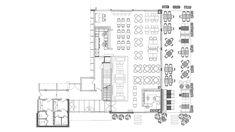 Enterijer restorana Limited u Ovči Modern Office Design, Floor Plans, Diagram, Studio, Restaurants, Projects, Retail, Log Projects, Blue Prints