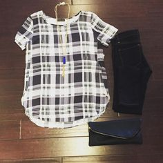 #ootd #plaid #love #weekend #outfit #shopbluetique #shop ❤️ Available on the website!