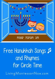 I& continuing the December holiday fun in my free circle time song series! Today, I& sharing Hanukkah songs and rhymes. Hanukkah Music, Feliz Hanukkah, Hanukkah Crafts, Hannukah, Hanukkah Lights, Songs For Toddlers, Kids Songs, Rhymes Songs, Party