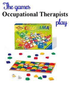 A fun game for working on visual perceptual and fine motor skills. For ideas on adapting this game, follow the link to The Playful Otter (OTR).