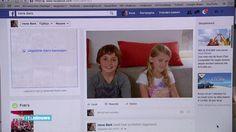 Item in het RTLNieuws (tv) over het onderzoek naar de kinderfoto's online.