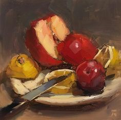 "Daily Paintworks - ""Weekly Wednesday Auction - Original Fine Art for Sale - © Thomas Ruckstuhl Art Thomas, Still Life Fruit, Z Arts, Fine Art Gallery, Drawing Reference, Art For Sale, Auction, Sketches, Drawings"