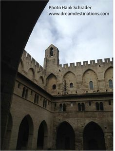 Palace of the Popes Avignon France Under The Influence, Vatican, Reign, Rome, Palace, Catholic, Louvre, France, Palaces