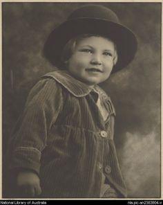Cazneaux, Harold, 1878-1953. The boy [picture]