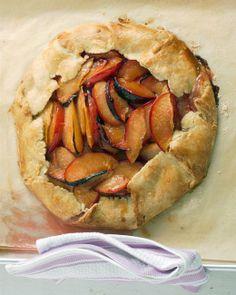 Rustic Plum Tart 9/7 added peaches, raspberries and amaretto