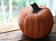 Pin for Later: A Clever Hack For Making Plastic Pumpkins Look Real