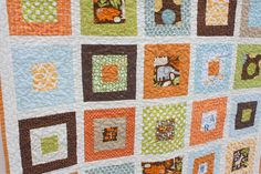 Diary of a Quilter - a quilt blog: Two new loves: a quilt and a boy