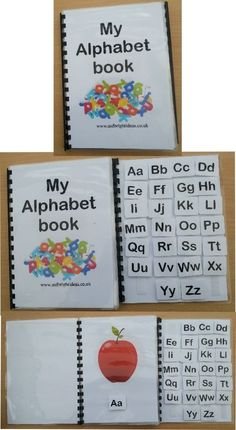 Description A great way to learn the alphabet, this flip book not only helps with the learning of the alphabet but also helps with fine motor skills and language skills Supplied with - 1 x 26 page A5