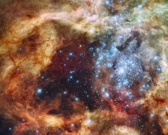 Star Cluster R136 | NASA, ESA, & F. Paresce (INAF-IASF), R. O'Connell (U. Virginia), & the HST WFC3 Science Oversight Committee