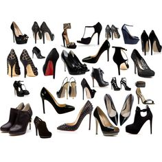 Yes, my love.  I really do need that many black shoes in the closet.