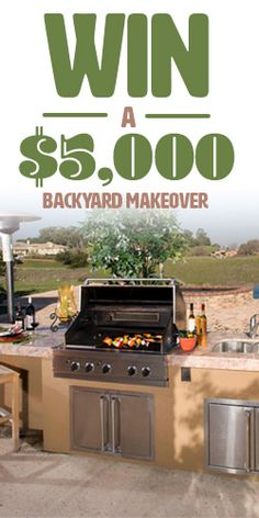 Win a $5,000 Backyard Makeover