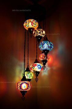Details about 4 ball turkish mosaic chandelierturkish lamp light hanging lampsturkish lamphandmade mosaicglass lampchandeliermosaic lamp aloadofball Choice Image