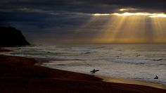Bing Image Archive: Surfers at Bar Beach near Newcastle, New South Wales (© Fairfax Media/Getty Images)(Bing Australia)