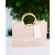 Large Luxury Jute Shopper with cane handles [DS-5066]