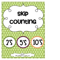 Skip Counting!