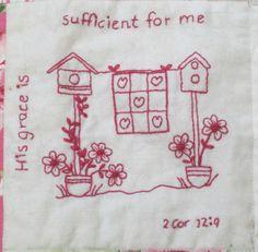 Words of Hope Block Three | Craftsy