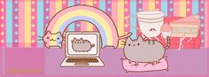 pusheen cat portada facebook -