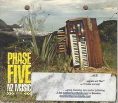 Phase Five NZ Music Part 5 By Various Artists (CD) Promotional CD Digipak