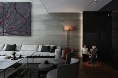 This glamorous and stylish apartment design is created by Tanju Özelgin and is located in the Turkish capital- Istanbul. The project goal to create memorable Luxury Interior, Modern Interior, Home Interior Design, Interior Architecture, Living Room Decor, Living Spaces, Piece A Vivre, Ikea Furniture, Cool House Designs