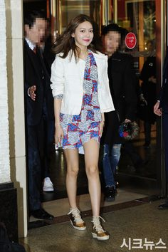 SNSD SooYoung at Bimba y Lola's event