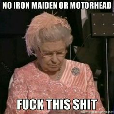 No Iron Maiden or Motorhead?