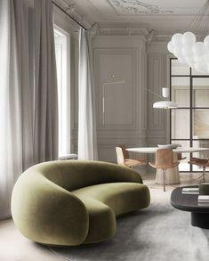 Sofa design for living room Sofa Design, Canapé Design, Furniture Design, House Design, Modern Design, Furniture Decor, Design Trends, Best Interior, Home Interior Design