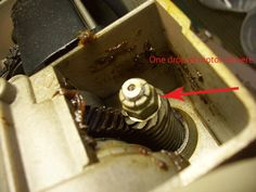 My Sewing Machine Obsession: Noisy 301/401 motor  - good instructions on oiling the top motor bearing