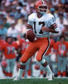 "Brian Sipe, Quarterback of the ""Kardiac Kids"" Nfl Uniforms, Best Uniforms, Cleveland Browns Football, Cleveland Indians Baseball, Cleveland Ohio, Nfl Football Players, Football Pics, Browns Fans, Nfl History"