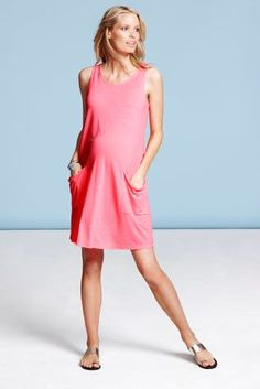 Pocket Dress (Maternity)