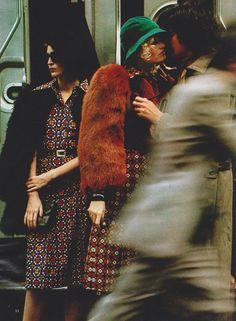 1971-72 - Saint Laurent Rive Gauche by Hans Feurer for Elle France - September 6, 1971