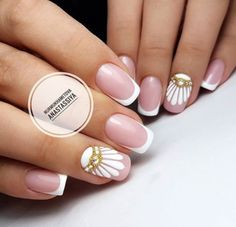40 Very impressive collection of nails – Reny styles – Nail Art Nail Swag, French Nails, Pretty Nails, Fun Nails, Gell Nails, Rainbow Nail Art, Elegant Nail Art, Bridal Nail Art, Nagel Hacks