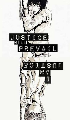 Death Note ~ Justice