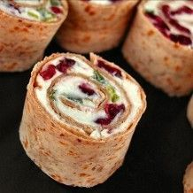 Christmas Appetizer – Cranberry Feta Pinwheels