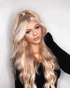 Haircuts For Curly Hair, Messy Hairstyles, Curly Hair Styles, Brown Blonde Hair, Blonde Wig, Best Wigs, Lace Hair, Hair Color Dark, Beautiful Long Hair