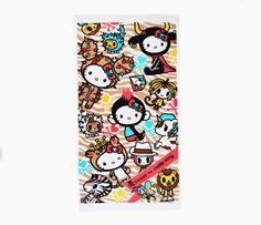 tokidoki x Hello Kitty XL Beach Towel: Safari